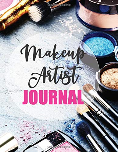 Makeup Artist Journal: Face Charts and Fashion Planner