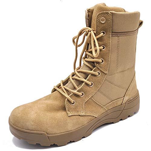 Hommes Tactique désert Bottes Outdoor Respirant Sport Combat Randonnée Escalade Chaussures Bottines en Plein air Sand 45