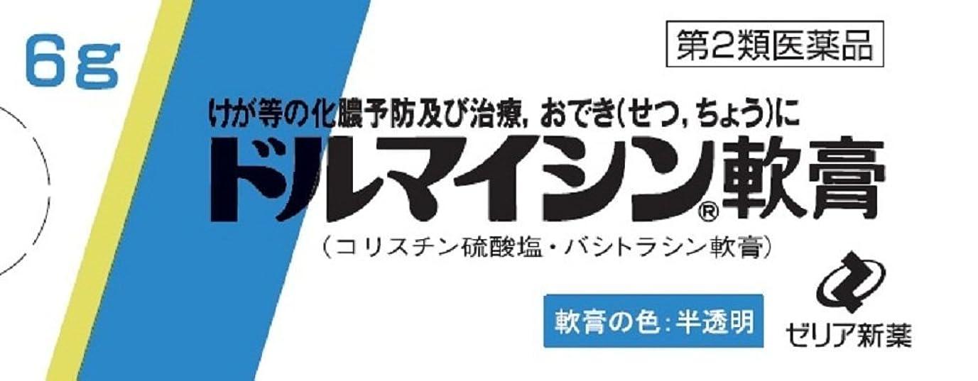 役員レバー略す【第2類医薬品】ドルマイシン軟膏 6g ×4