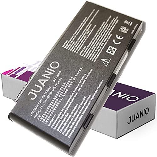 Bateria para portatil MSI BTY-M6D GT780 GT780DXR GT780R 11.1V 6600mAh - JUANIO -
