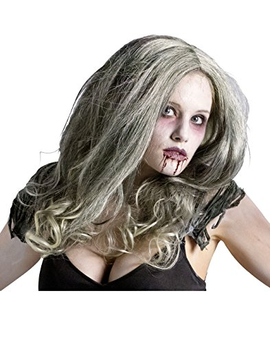 Zombie Queen Wig Costume Accessory