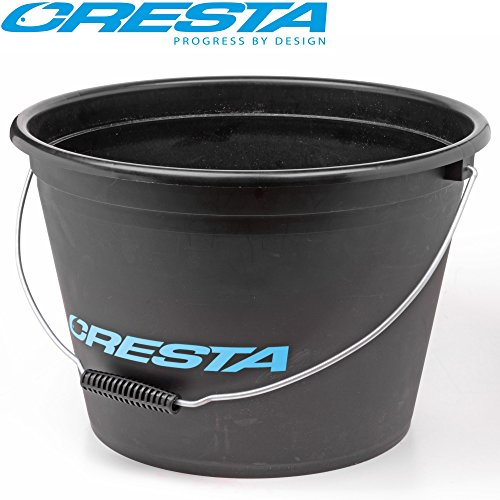 CRESTA Bait Bucket 17l - Ködereimer zum Friedfischangeln, Angeleimer für Grundfutter, Eimer zum Angeln, Futtereimer