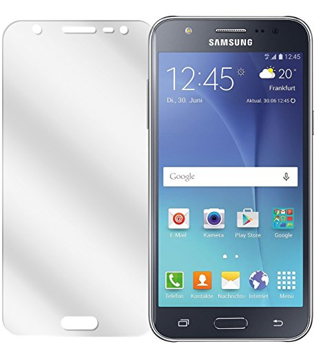 dipos I 6X Schutzfolie klar kompatibel mit Samsung Galaxy J5 Folie Displayschutzfolie