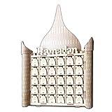 Moonbird Holz MDF Muslim Eid Mubarak Ramadan Zeichen Adventskalender Countdown House Drawer Party DIY Dekoration