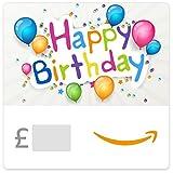 Happy Birthday (Coloured Balloons) - Amazon.co.uk eGift Voucher