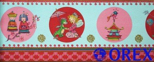 Villa Coppenrath Borte Kinderborte Vlies Prinzessin Lillifee 413434 blau Borte Kinder