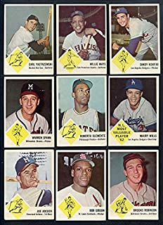 1963 Fleer Baseball Complete Set w Clemente Koufax 357974 Kit Young Cards