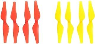 8ピースプロペラccw Cw小道具ブレード用dji Telloミニrcドローンスペアパーツ