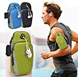 AnuVruti Universal Running Armband, Arm Cell Phone Holder Sports Armband for Running, Fitness