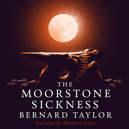 The Moorstone Sickness audiobook cover art
