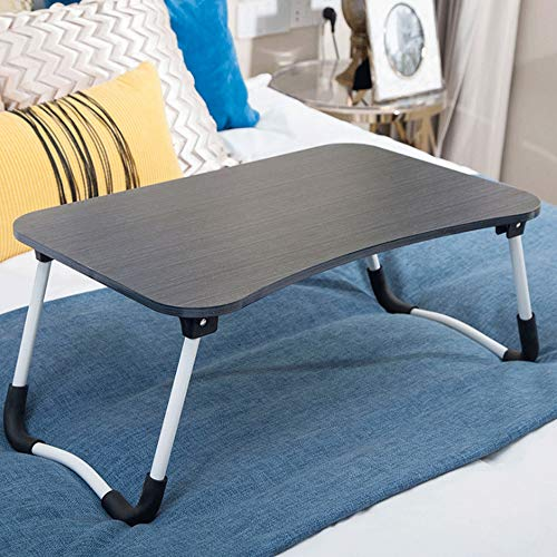 Ystle Folding Computer Desk The Best Office Computer Desk Portable Outdoor Picnic Table Dorm Room Bed Learn Table Multifunction Breakfast Table for Working Watching Movie On Sofa (Color : E)