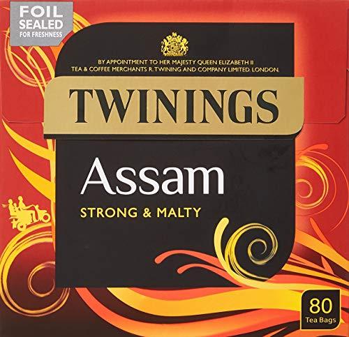 Assam Strong & Malty Twinings Black Tea 80 Tea Bags