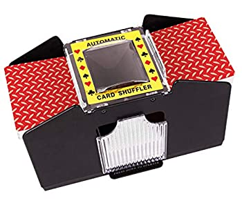 Battery Operated Automatic Card Shuffler 4 Deck Card Shuffler for Home Card Games Poker Rummy Blackjack