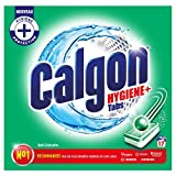 Calgon Pastilles Anticalcaire Nettoyant Lave-Linge Hygiène Plus, 221g