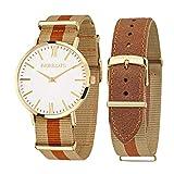 Morellato, orologio da polso da uomo VELA analogico, al quarzo, in pelle R0151134002