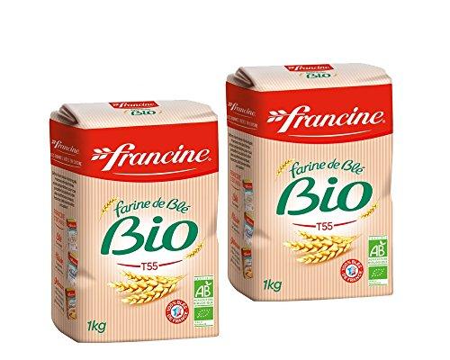 Francine Farine de Ble Bio - French All Purpose Organic Wheat Flour -...