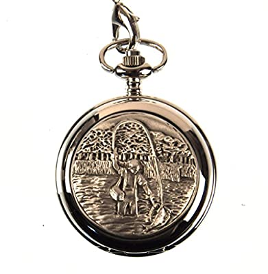 Fly Fishing Pocket Watch by AEW