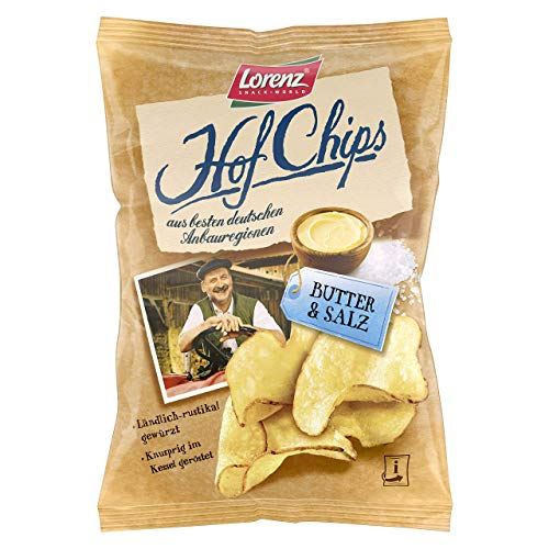 Lorenz Snack World HofChips Butter und Salz 110 g