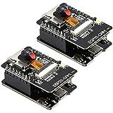 SODIAL ESP32-CAM-MB - Placa de desarrollo WiFi OV2640 (módulo de cámara, interfaz USB CH340G, USB a puerto serie, 2 unidades)