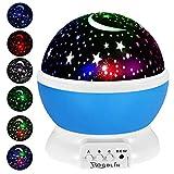 ROGBLIN Moon Star Projector,Baby Night Lights, Stars Night...