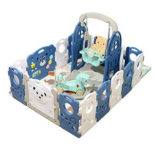 Relaxbx baby-speel-hek hoofdbaby-kleinkind-sleep-hek – speel-veiligheid entertainmentcentrum – binnen en buiten plezier
