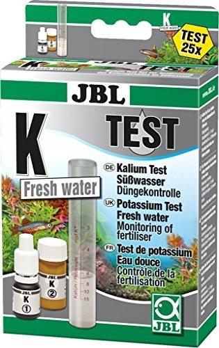 JBL 2541100 Schnelltest zur Bestimmung, Kaliumgehalts in Süßwasser Aquarien, K Kalium Test-Set