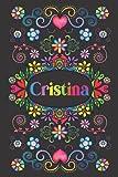 REGALO PERSONALIZADO PARA CRISTINA: Hermoso Diario Forrado Con El Nombre De Cristina