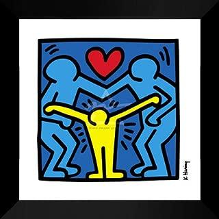 Keith Haring Framed Art Print 24x24