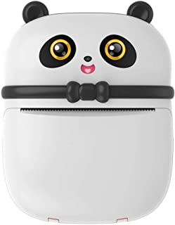 Impresora de Bolsillo Mini Bluetooth Impresora portátil inalámbrica portátil Impresora térmica Compatible con iOS + Androi...