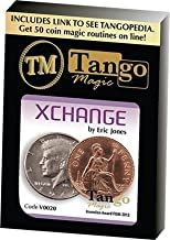 Magic Trick | Xchange (Online Instructions and Gimmicks) V0020 by Eric Jones and Tango Magic | Money | Coin Magic