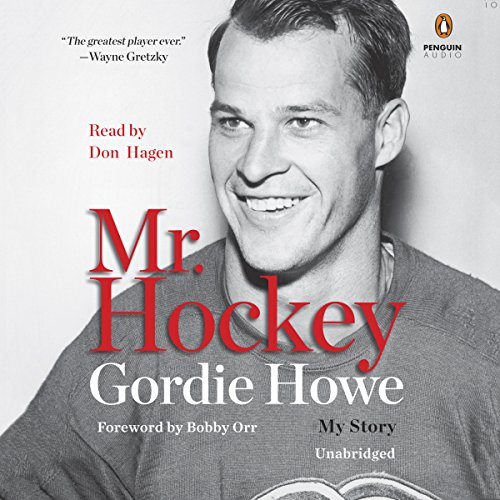 Mr. Hockey audiobook cover art