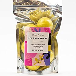 Drop a Floral Freesia Bath Bomb into your hot tub or whirlpool to release a burst of fresh, floral scents to create a serene peaceful scene. Chill out and relax in those warm bubbles. Specially formulated mini bath bombs for use in hot tubs and whirl...