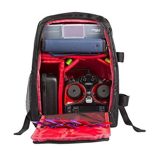 HSKB Drone Backpack rugzak voor FPV Racing Drone draagtas handtas schoudertas, waterdichte reistas outdoor tas draagbare draagtas