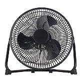 Clas Ohlson ® Floor Fan, Desk Fan 9 inch, 2 Speeds, Adjustable Tilt