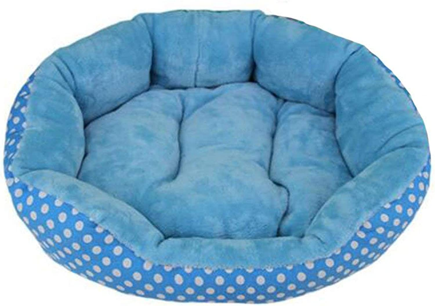 HeiPlaine Pet Sofa Kennel Four Seasons Universal Pet Cat Nest Doublesided Can Be Use Washfree Smallscale Kennel Mat (color   Red, Size   Big) (color   bluee, Size   Small)