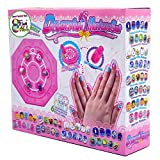 TongS Arts and trafts Supplies Manicure Nil Kit Art Set Stickers Creative Gifts for niños Girls Ages 4 up