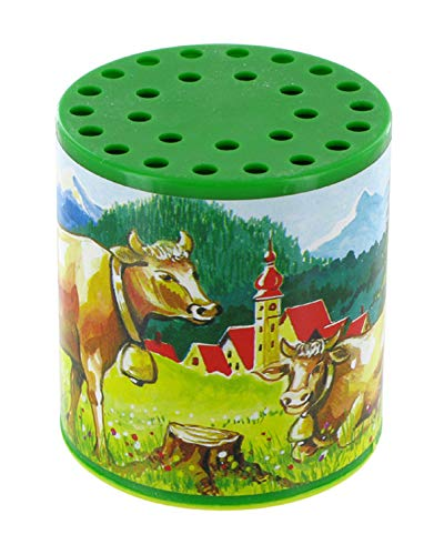 Lutèce Créations Petite boîte à meuh ou boîte à Vache Traditionnelle pour Entendre Le meuglement d'une Vache (Réf: 585010M)