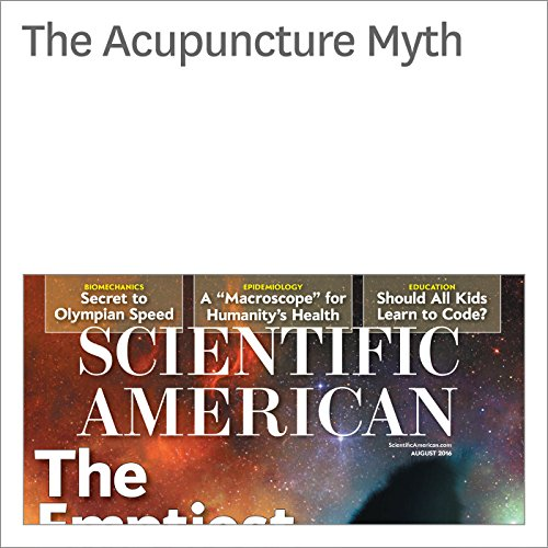 The Acupuncture Myth audiobook cover art