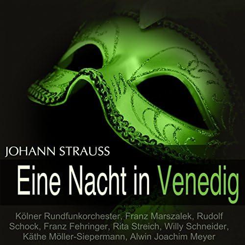 Kölner Rundfunkorchester, Franz Marszalek, Rudolf Schock, Rita Streich