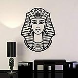 HGFDHG Egipto Vinilo Pared Pegatina Vinilo Pared calcomanía Mujer egipcia Faraón Nefertiti Egipcio calcomanía Papel Tapiz