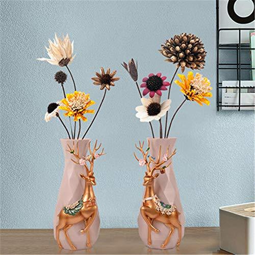 Sculpturen Beeldjes Herten Luxe Vaas Creatieve Moderne Eenvoudige Woonkamer Bloemstuk Decoratie