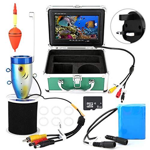 Telecamera subacquea Videocamera da pesca, per visione subacquea, per(British regulations (110V-240V))