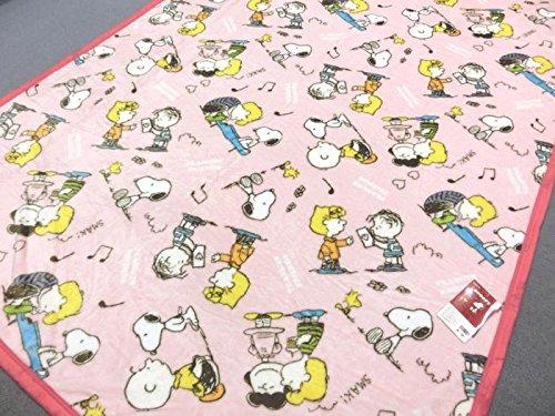 西川 スヌーピー やわらか毛布 ピーナッツフレンズ 2275-55596 ピンク シングルサイズ 140x200cm ニューマイヤー 西川リビング 在庫限り