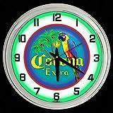 ELG Companies LLC 16' Corona Extra Beer Sign Green Neon Clock