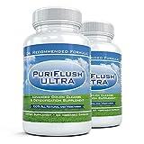 PuriFlush Ultra (2 Botellas) - Avanzado Totalmente Natural Fórmula Limpieza De Colon - Limpiar Suplemento Intestinal (60 Cápsulas Por Botella)