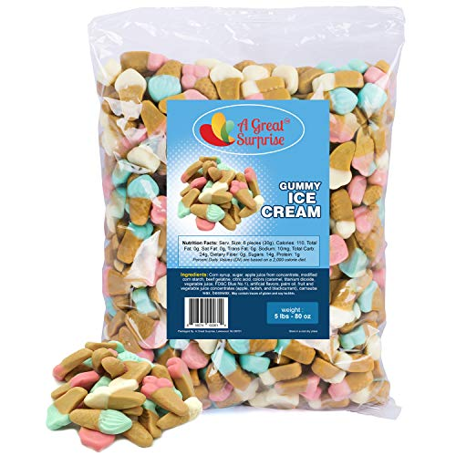 Gummy Candy – Gummy Ice Cream Cones - Ice Cream Party – Bulk Candy – 5 Pounds