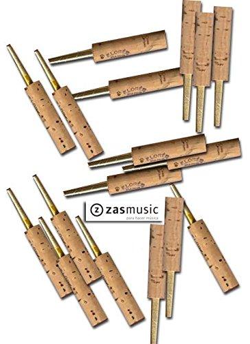 Tudel de latón para cañas de oboe. LORÉE 48 mm