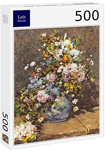 Lais Puzzle Pierre-Auguste Renoir - Natura Morta con Grande Vaso di Fiori 500 Pezzi