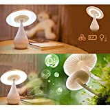 Mushroom Air Purifying Lamp LED Desk Night Light by 24/7 store
