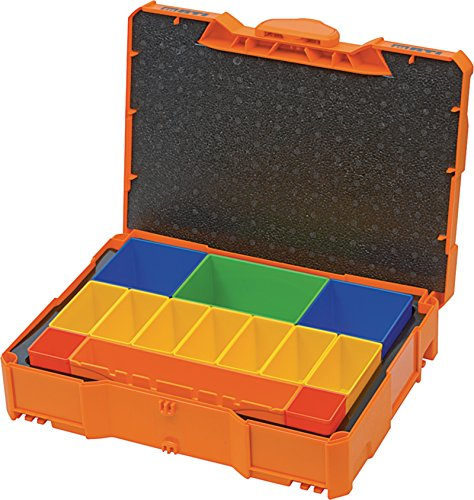 BTI Box mit Boxen Orange Kleinteilebox